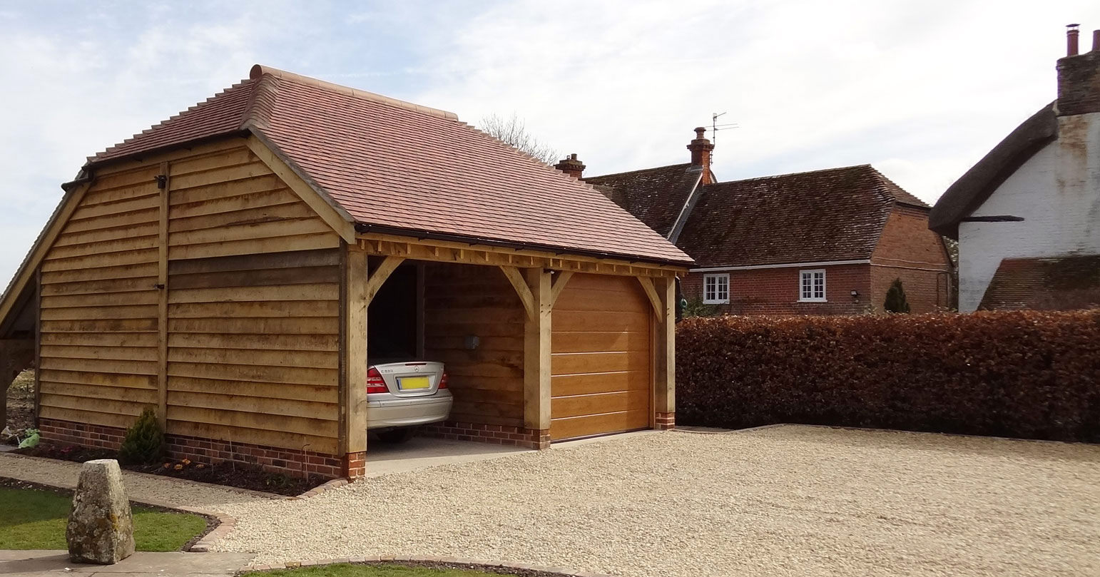 Timber buildings, oak framed buildings, timber and fencing