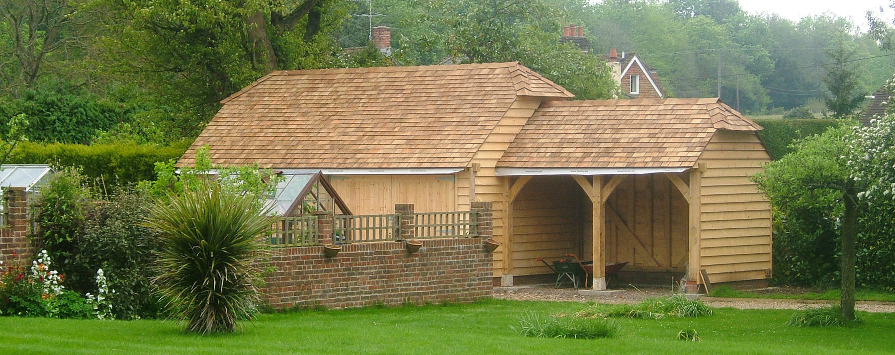 Oak Framed Buildings Dorset Townsend Timber