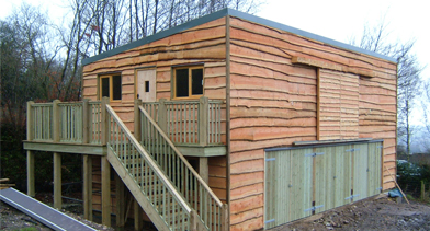 Timber buildings, oak framed buildings, timber and fencing supplies
