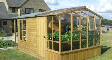Garage Roof Garden