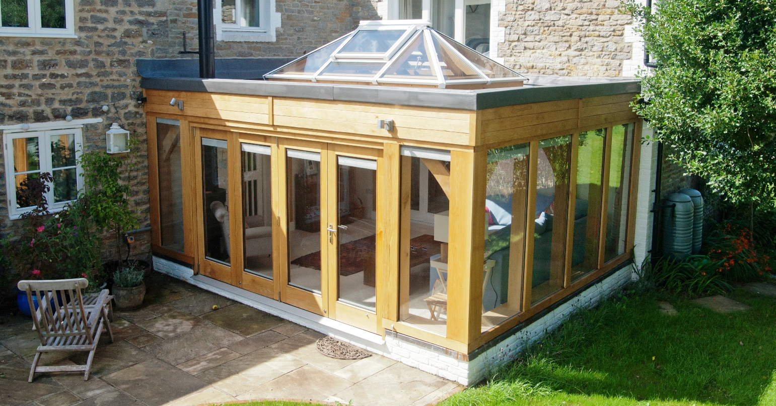 Timber buildings oak framed buildings timber and fencing for Oak garden rooms